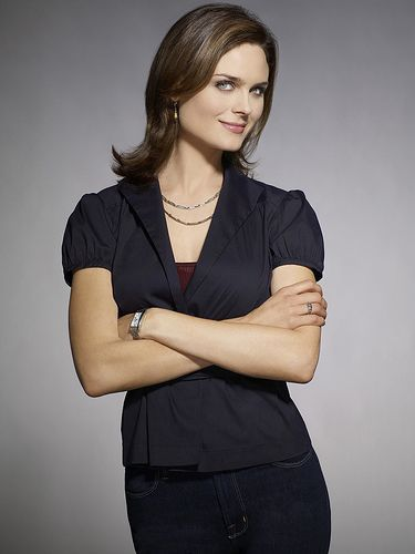 Emily Deschanel  from the 3rd season of Bones photoshoot