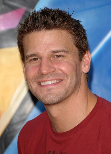 David Boreanaz  at Teen Choice Award 2007
