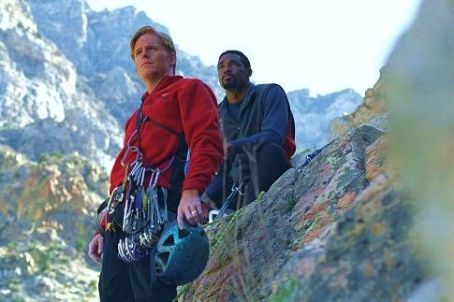 Ned Vaughn  and Jason George in The Climb