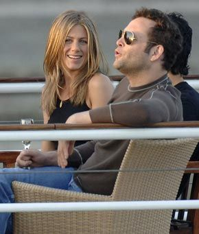 Jennifer Aniston and Vince Vaughn