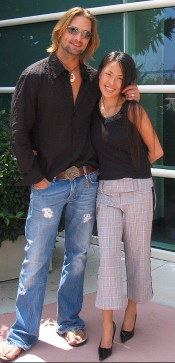 Josh Holloway  and Yessica Holloway