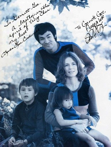 Bruce Lee  and Linda Lee Caldwell