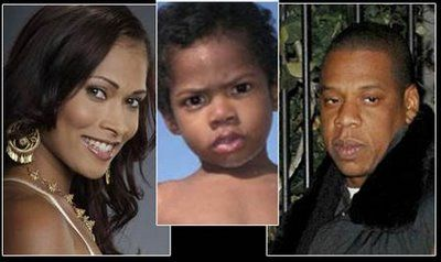 Jay-Z Shawn Carter and Shenelle Scott