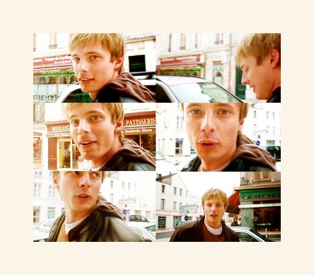 Bradley James - i'd be called angel & she'd be called hussy.