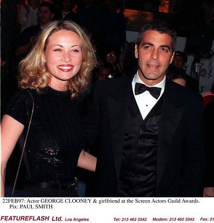 George Clooney Celine Balitran and