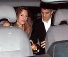 George Clooney  and Krista Allen