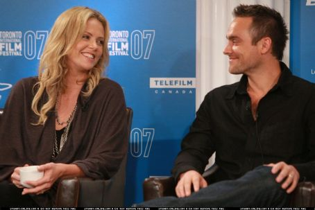 Charlize Theron  and Stuart Townsend