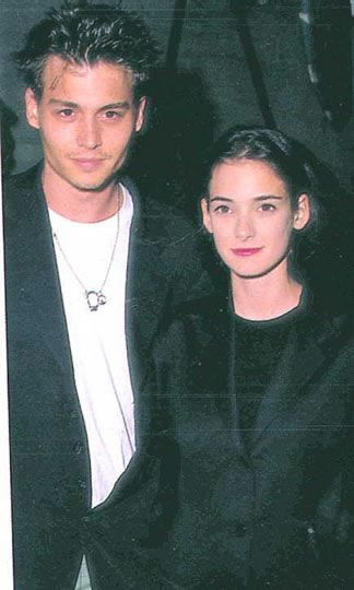 Winona Ryder Johnny Depp and