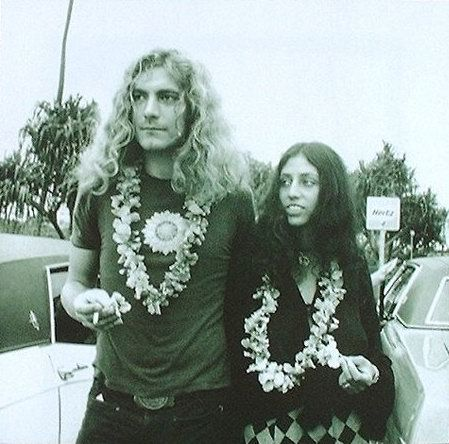 Maureen Plant Robert Plant and Maureen Wilson