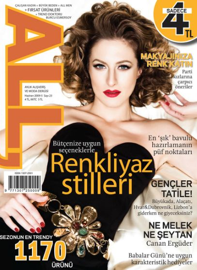 Canan Erguder - All Magazine Cover [Turkey] (June 2009)