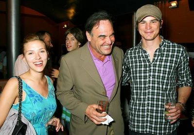 Josh Hartnett and Scarlett Johansson