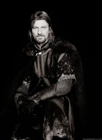 Sean Bean  as Boromir in Lord of The Rings: The Fellowship of the Rings (2001)