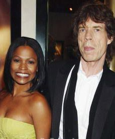 Nia Long and Mick Jagger