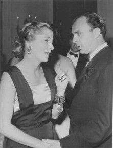 Joan Fontaine  and Ali Khan