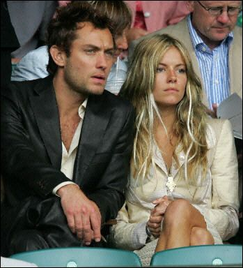 Sienna Miller Jude Law and