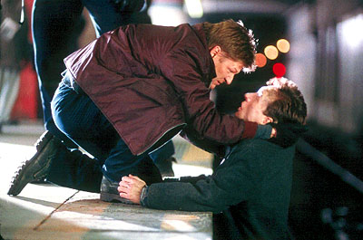 Shawn Doyle Sean Bean and  in 20th Century Fox's Don't Say A Word - 2001