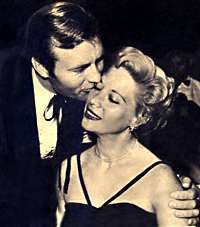Dinah Shore  and George Montgomery