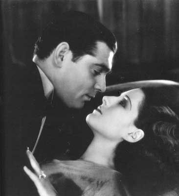 Clark Gable Norma Shearer and