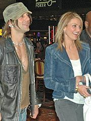 Criss Angel  and Cameron Diaz