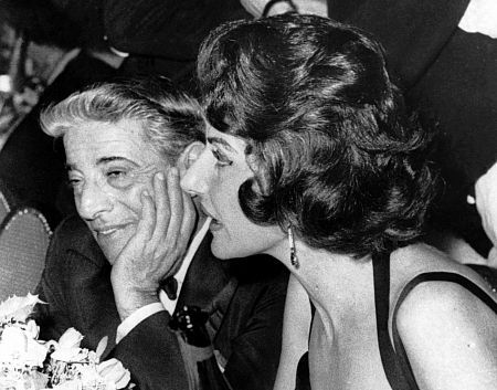 Maria Callas and Aristotle Onassis
