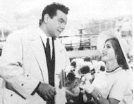 Zsa Zsa Gabor  and Mario Lanza