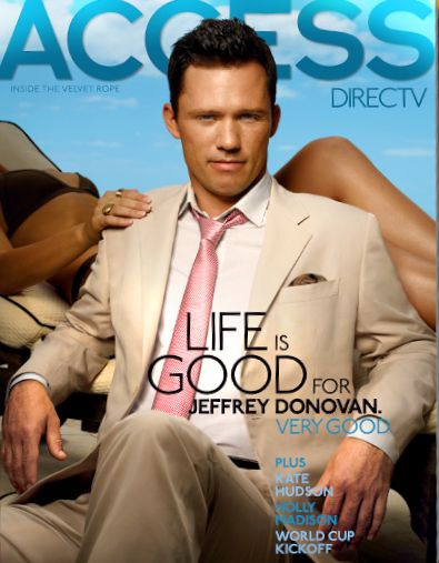 Jeffrey Donovan - June 2010 ACCESS DIRECTV