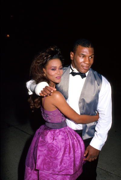 Robin Givens Mike Tyson and