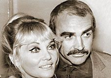 Sean Connery Diane Cilento and