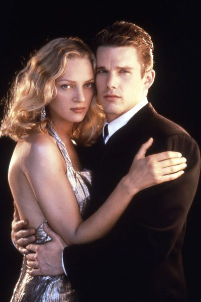 Ethan Hawke  and Uma Thurman in Gattaca (1997)