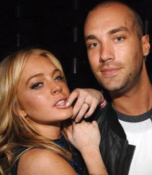 Calum Best Lindsay Lohan and