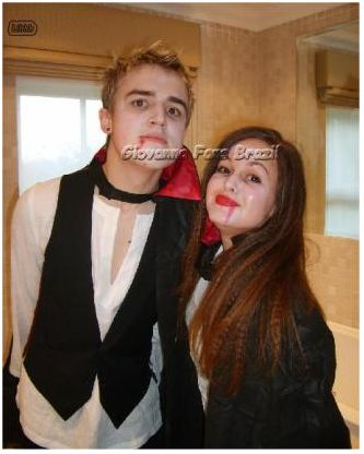 Tom Fletcher  and Giovanna Falcone