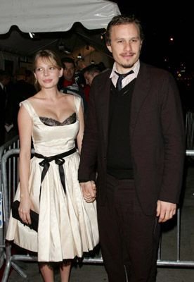 Michelle Williams Heath Ledger and