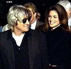 Richard Gere Cindy Crawford and