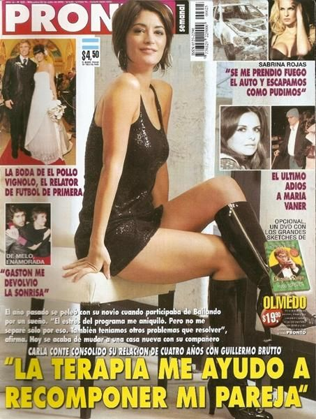 Carla Conte - Pronto Magazine Cover [Argentina] (23 July 2008)