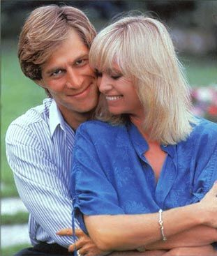 Susan George  and Simon MacCorkindale
