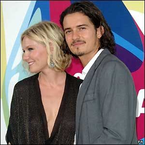 Orlando Bloom  and Kirsten Dunst