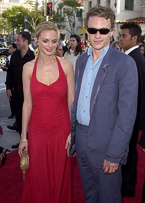 Heath Ledger  and Heather Graham