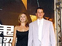 Matt Damon  and Odessa Whitmire