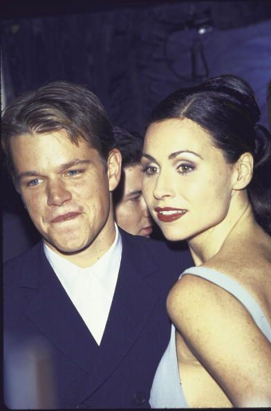 Minnie Driver Matt Damon and