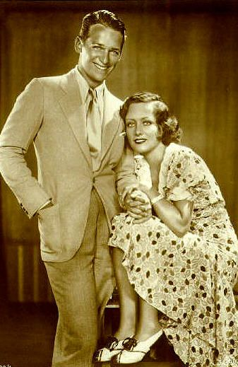 Joan Crawford  and Douglas Fairbanks, Jr.