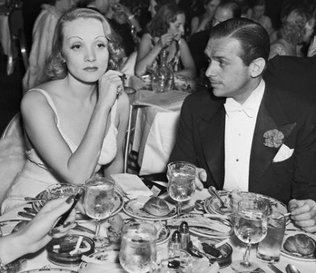 Marlene Dietrich Douglas Fairbanks, Jr. and