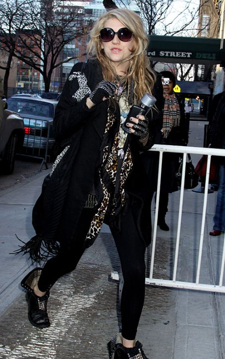 Kesha Ke$ha paid a visit to The Wendy Williams Show in New York City on Thursday (January 14).
