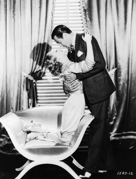 Carole Lombard  and Gary Cooper