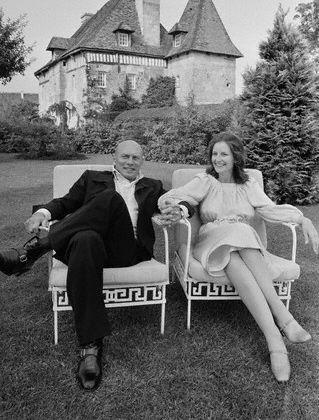 Yul Brynner  and Jacqueline de Croisset