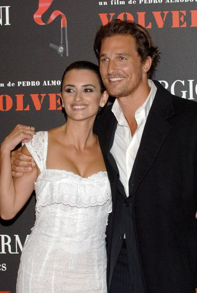 Matthew McConaughey  and Penelope Cruz