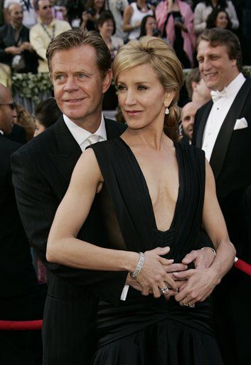 William H. Macy Felicity Huffman and