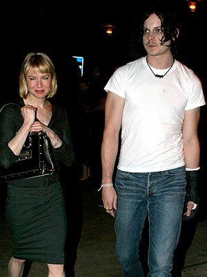Renée Zellweger Jack White and Renee Zellweger