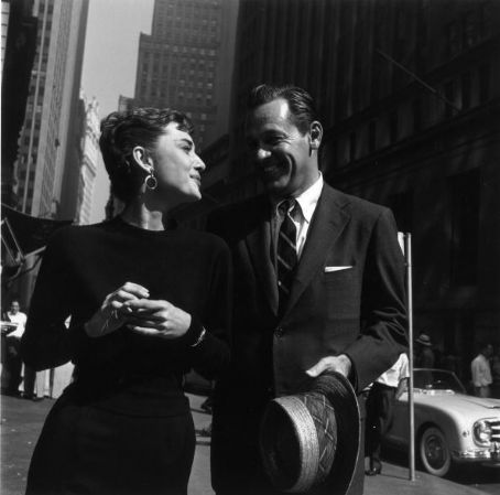 Audrey Hepburn  and William Holden
