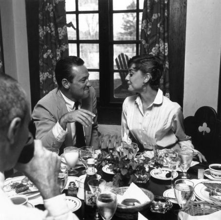 William Holden Audrey Hepburn and