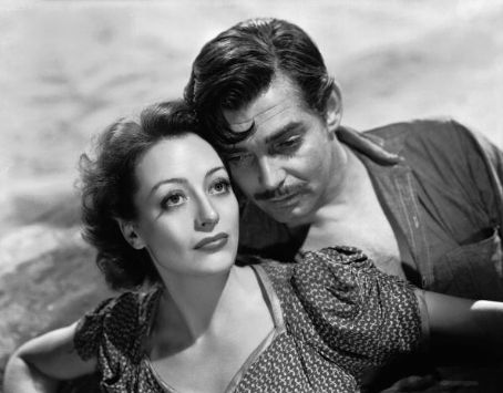Joan Crawford Clark Gable and